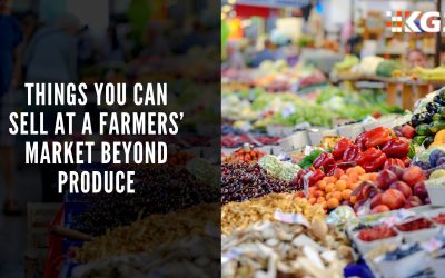 THINGS YOU CAN SELL AT A FARMERS' MARKET BEYOND PRODUCE